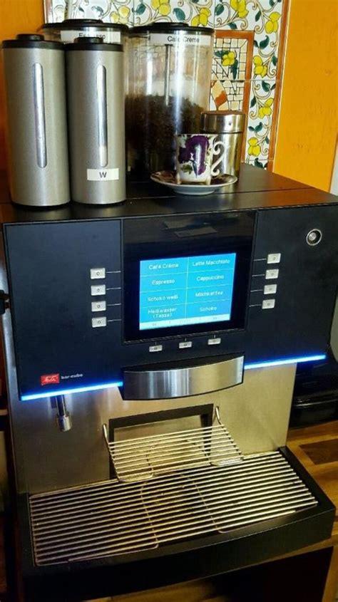 melitta bar cube ii 1w 2g is melitta bar cube 2 1c 2g is kaffeevollautomat in m 246 rschbach kaffee espressomaschinen kaufen