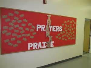 Prayer Bulletin Board Ideas