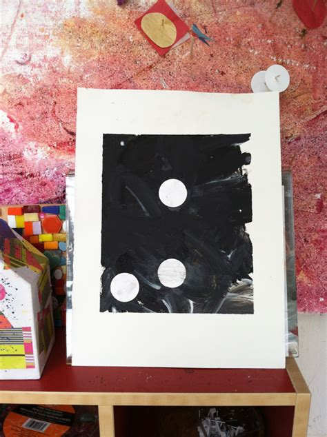 process art  toddlers experimenting  black