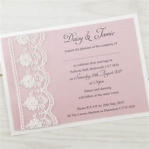 elizabeth pure invitation wedding invites With custom wedding invitation printing uk
