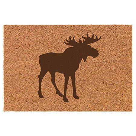 Moose Doormat by Coir Door Mat Entry Doormat Moose Walmart