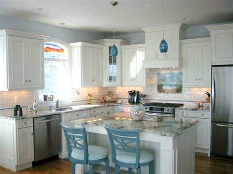 "Beach Themed Kitchen Backsplash ""path To The Beach"