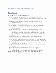 Chapter 5 The Integumentary System Worksheet Answers