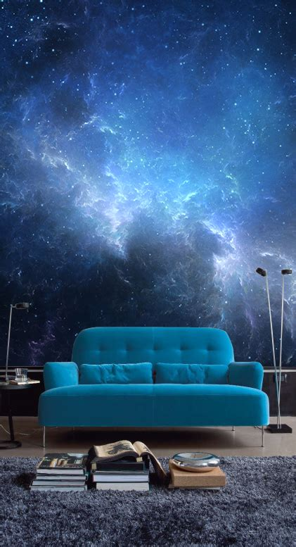 Wall Murals Sky sky with nebula wall mural skies wall