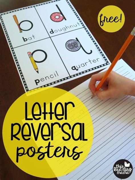 letter reversal posters