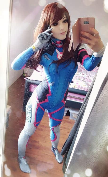 Buy Dva Costume Cosplay Suit Hana Song Video Game Leotard