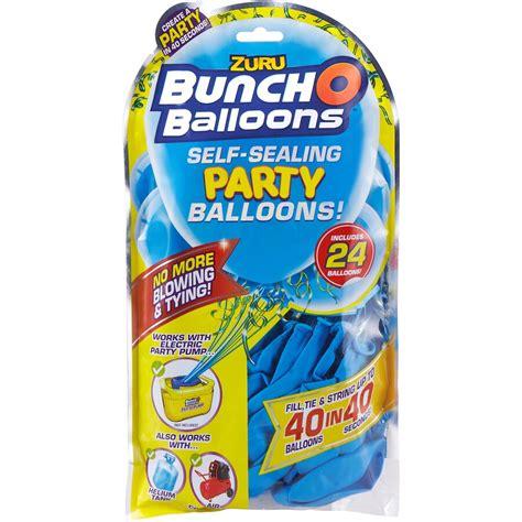 X Bunch O Balloons Blue bunch o balloon balloon 24 pack blue big w