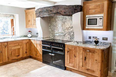 Rustic Oak Kitchen  Lovewood Kitchens