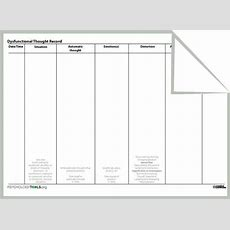 Rebt Dysfunctional Thought Record Worksheet  Cbt  Pinterest  Thoughts, Therapy And Therapy