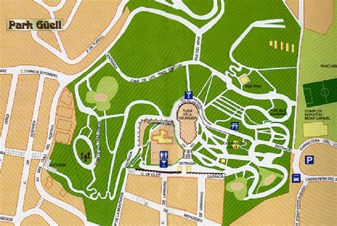park guell  guide  park guell maps tours