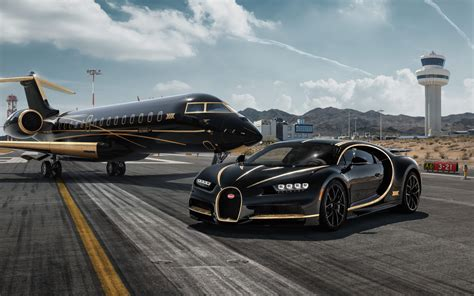 1920x1200 black bugatti veyron black bess on a gray background. Wallpaper of Black, Gold, Aircraft, Bugatti Chiron, SuperCar background & HD image