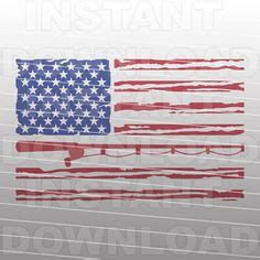 Vector files are designed so as to be enlarged in any format without loss of quality. Digi-tizers Fishing Pole American Flag Rugged (SVG Studio ...