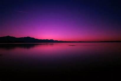 Laptop Wallpapers Sunset Nature Purple Night Mountain