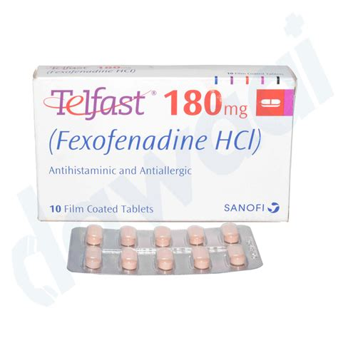 Telfast 180mg | Uses | Side Effects | Price | Online In