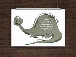 Dino Basteln Vorlage : drucke selbst einladungskarte dino ~ Lizthompson.info Haus und Dekorationen
