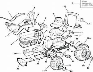 John Deere 210 Mower Parts Diagram