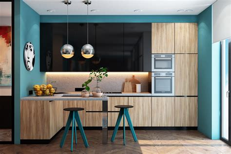teal kitchen accessories 30 beautiful blue kitchens to brighten your day 2682