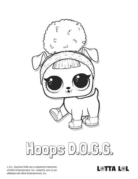 Dj Baby Kleurplaat by Hoops Dogg Coloring Page Lotta Lol Lol Series