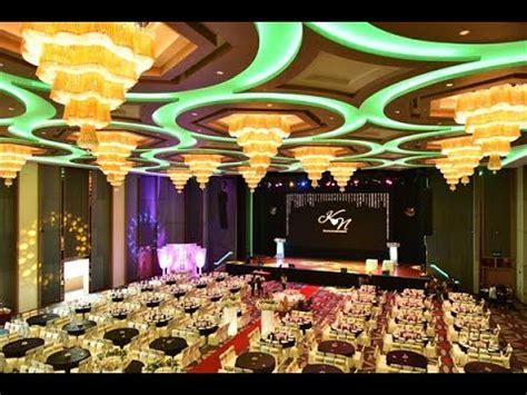 elegant dinner decoration  tsr conference hall