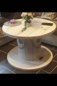Tisch Aus Kabeltrommel : genial kabelrolle als tisch einrichtung inspiration pinterest tisch kabelrolle und kabel ~ Orissabook.com Haus und Dekorationen