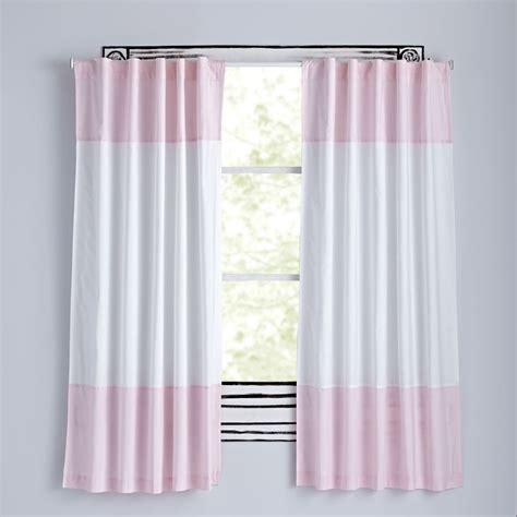 light pink curtains curtains bedroom nursery the land of nod