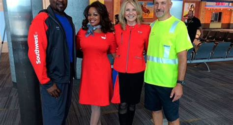 Lyn montgomery, southwest airlines union president, tells cbsla that these kinds of attacks are a growing concern for flight attendants. New Uniforms on the Horizon for Southwest Airlines