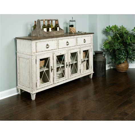 American Drew Sideboard by American Drew Southbury Sideboard With Adjustable Shelves