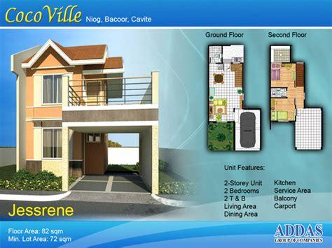 jessrene single attached house model cavite homes  sale