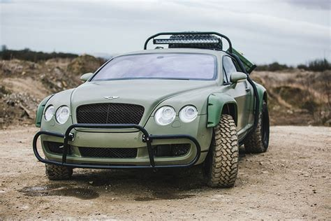 The Bentley Continental Gt Rally Edition From Nat Geo's