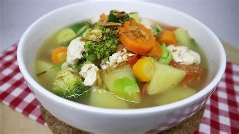 Namun selain dibuat sup, ceker juga bisa diolah jadi masakan lain yang gak kalah enak dan nah, sudah siap mengolah ceker ayam untuk lauk nikmat di rumah? Resep Sayur Sop Ayam Rumahan #12 - YouTube