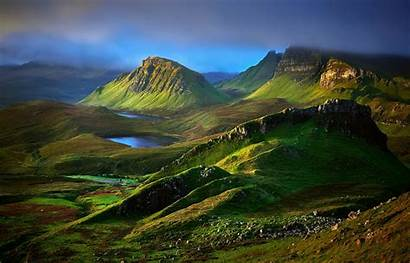 Highlands Scottish Scotland Desktop Mountains Isle Skye