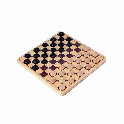 Checkers Draughts Wooden Damspel Compleet Angel Europoint