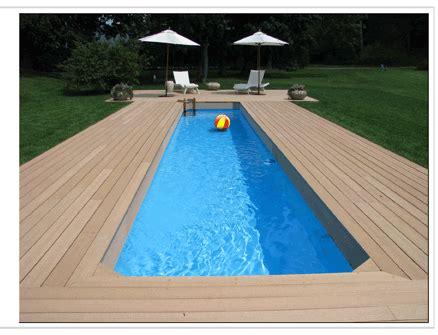 Small Yard   Lap Pool Project Advanced Pools