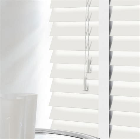 cheapest blinds uk  premium white wood venetians