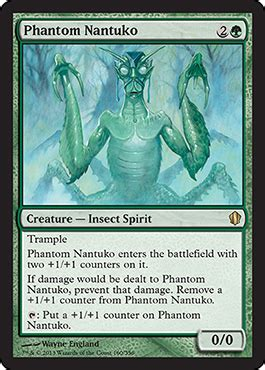 Magic The Gathering Insect Deck by Phantom Nantuko From Commander 2013 Spoiler
