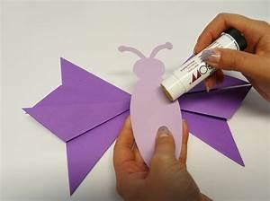 Schmetterlinge Basteln Zum Aufhängen : schmetterling falten wir zeigen dir wie es geht ~ Watch28wear.com Haus und Dekorationen