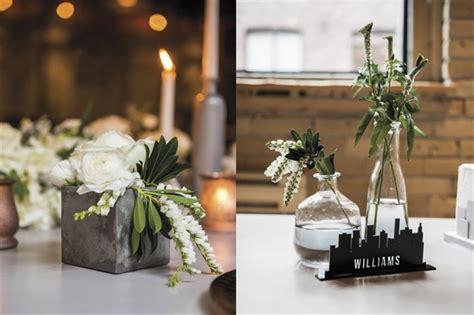 wedding theme ideas industrial chic