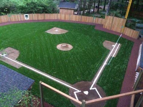 Backyard Wiffle Ball Field