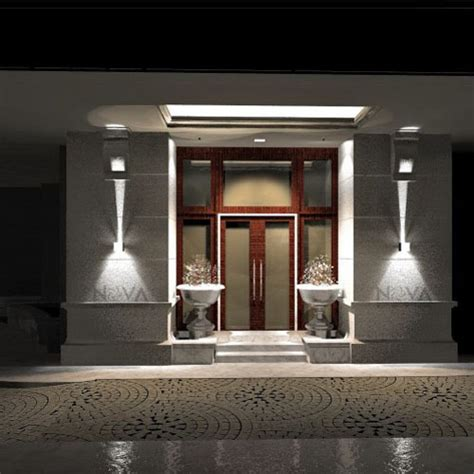 cree outdoor wall light led up wall sconces