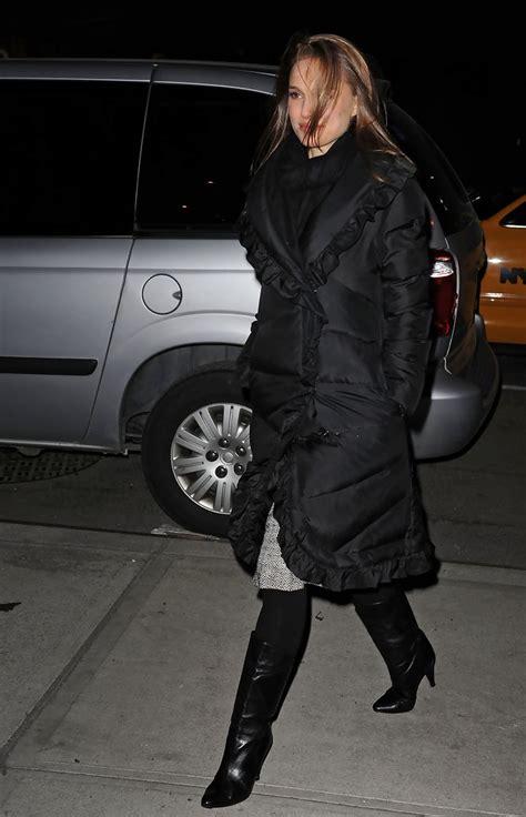natalie portman  jacket natalie portman outerwear