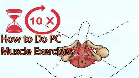 Kegel Exercises  How To Do Pc Muscle Exercises Youtube