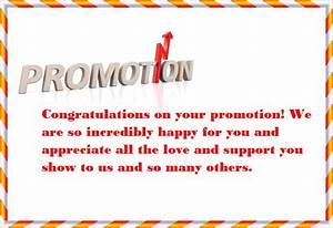 Congratulations Wishes Messages For Promotion of Colleague ...