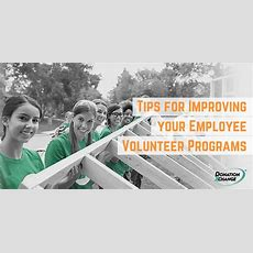Tips For Improving Your Employee Volunteer Programs