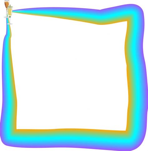 colored picture frames colored frame free stock photo domain pictures