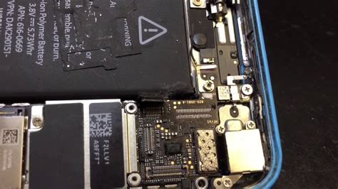 iphone 5c not working iphone 5c touch screen connector damage after a screen