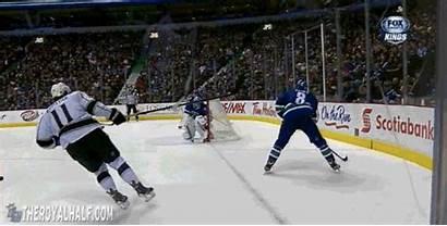 Check Dustin Brown Hard Hockey Into Glass