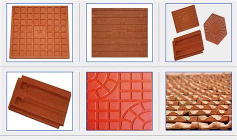 clay tile flooring kerala gurus floor