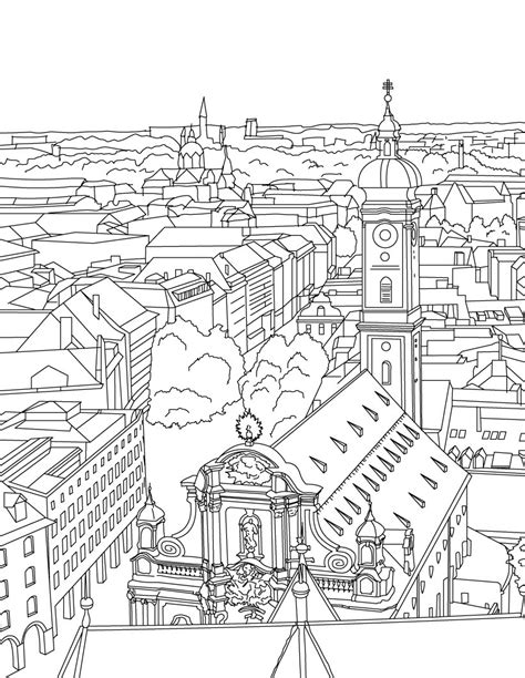 city coloring pages  coloring pages  kids