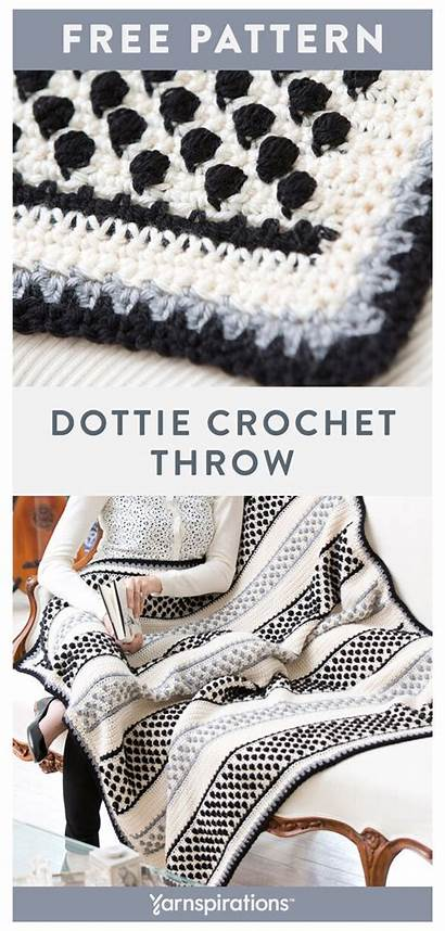 Crochet Yarn Patterns Throw Blanket Soft Goodness