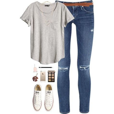 30 Cute Outfit Ideas for Teen Girls 2018 - Teenage Outfits for School - Her Style Code